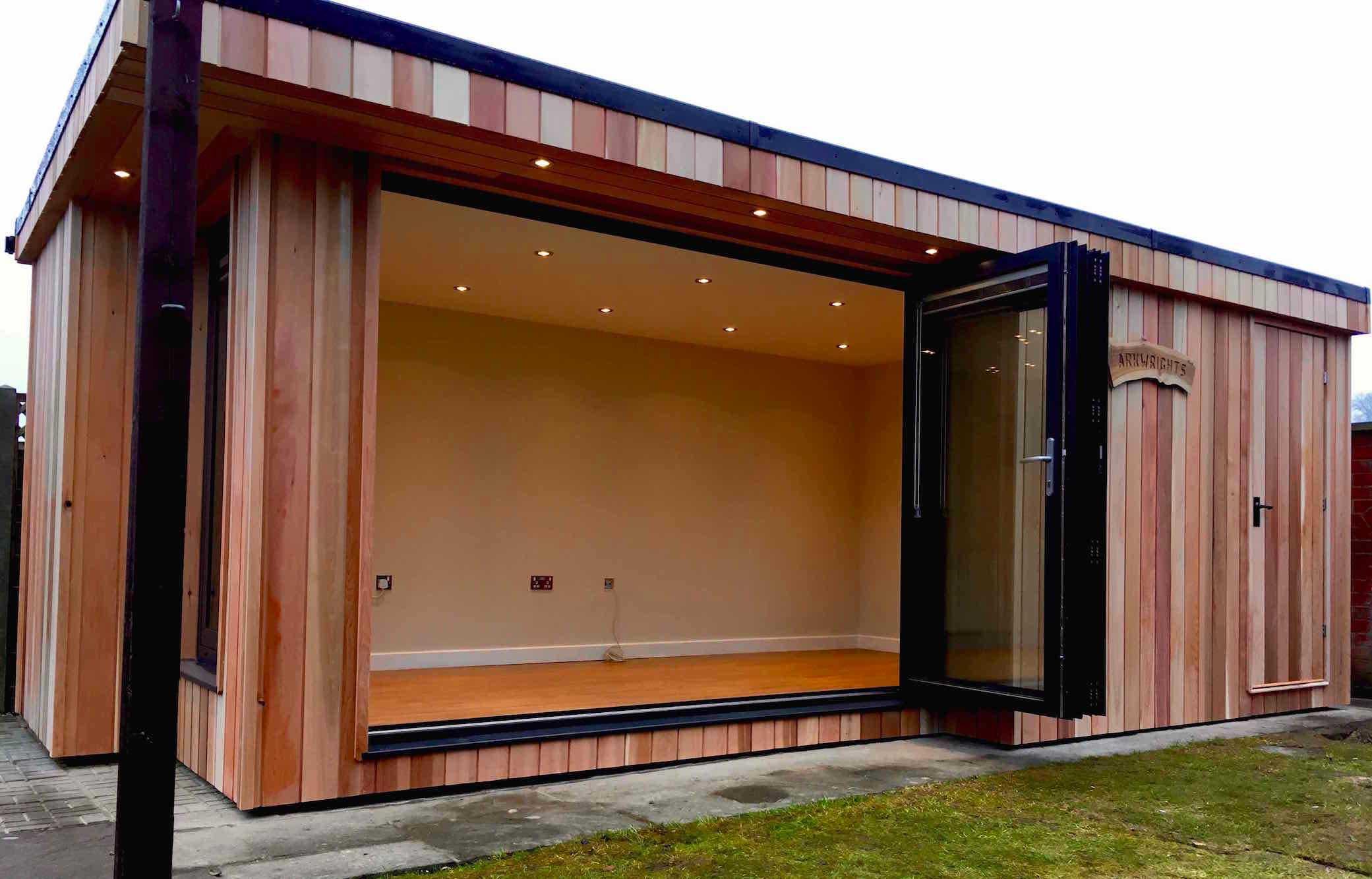 Bespoke cedar garden rooms